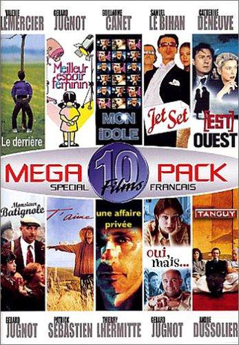 Bild von Megapack Special Noel 10 Films : Monsieur Batignole / Mon idole / Jet Set / Tanguy / Meilleur espoir féminin / Le Derrière / [Est] Ouest / Une affaire privée / Oui, mais... / T'aime - Coffret 5 DVD