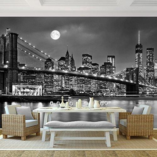 Vlies Fototapete 9101011b 'New York' 352 x 250 cm - RUNA Tapete ! Wandbilder XXL Wandbild Bild Fototapeten Tapeten Wanddeko Wand Wandtapete