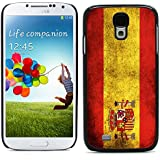 Graphic4You Español Bandera España Vintage Grunge Diseño Carcasa Funda Rigida para Samsung Galaxy S4 S IV
