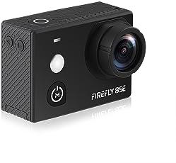 Hawkeye Firefly 8SE mit touchscreen Native 4 K 30 fps WiFi Sport Action Kamera mit 170 Grad Weitwinkelobjektiv, sechsachsige Gyro Video-Stabilisierung, frontal Selfie Spiegel und reichhaltige Set von Zubehör. Speicher bis zu 128 GB MicroSD. Nachfolger von Firefly 8S
