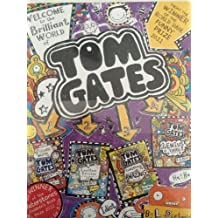Liz Pichon's Tom Gates 4 Books Collection Pack Set RRP: 27.96 The Brilliant ...