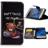 ubmsa-accessories Samsung Galaxy S7/s7edge/S7Plus Wallet Schutzhülle PU Leder mit Kreditkarte/Business Kartenhalter steht