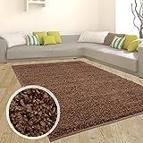 carpet city Teppich Shaggy Hochflor Langflor Flokati Einfarbig