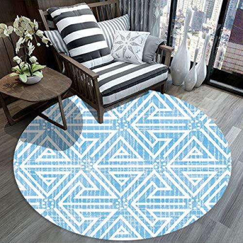 LEELFD Simple modern Carpet Living Room Coffee Table Nordic IKEA Study Bedroom Bedside Hanging Basket Computer Chair Round pad