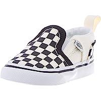 Vans Asher V-Velcro, Sneaker Unisex-Bambini