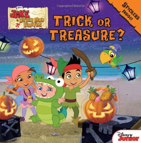 Jake and the Never Land Pirates Trick or Treasure?: Stickers ()