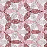 Fabulous Fabrics Dekostoff Jaquard Blume des Lebens groß