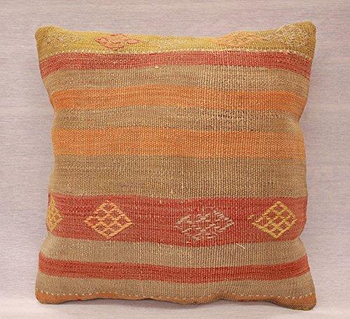 ETFA Kelim Kissen Kissenbezug Kissenhülle cushion cover pillow 40x40 cm 3512