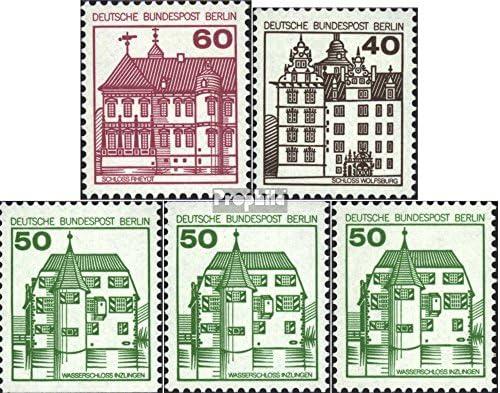 Berlin (West) 611A,614A-615A,615C,615D et (complète.Edition.) 1979/80 Châteaux et 611A,614A-615A,615C,615D Serrures (Timbres pour Les collectionneurs) B00UT75SHO afb884