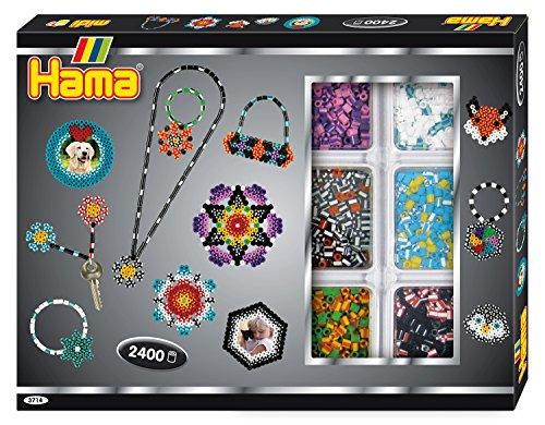 Hama 3714 – Kreativbox mit gestreiften Perlen