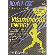 Complejo Vitaminas y Minerales - Formato Capsula - Vitamina C, B3, E, D, B6, A, B2, B1, B12, Hierro, Zinc, Yodo, Acido Pantotenico, Acido Folico y Yodo - 30 capsulas