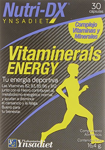 Nutri-Dx Vitaminerals Energy - 30 Cápsulas