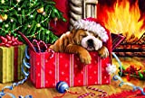 Gibsons Christmas Snooze Jigsaw Puzzle, 150 piece