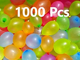 Jiada Non Toxic Holi Water Balloons Multicolor (Pack of 1000)