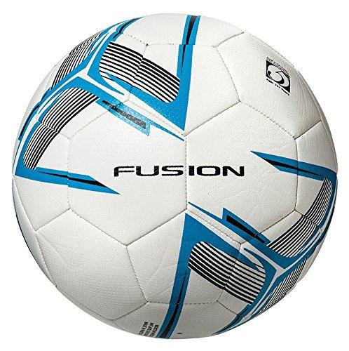 Precision Unisex Youth Fusion IMS - Balón de fútbol de Entrenamiento, Color Blanco/Cian, Azul/Negro...
