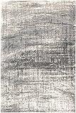 Louis de Poortere Teppich Designer-mit Griff 8420Jersey grau Stein Stil: Modern, modern, Teppiche, grau, 230x330cm - (7'6x10'8)