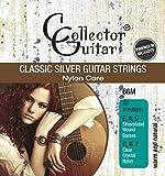 CollectorGuitar corde per chitarra da concerto 66M Classic Silver Guitar Strings Nylon Core