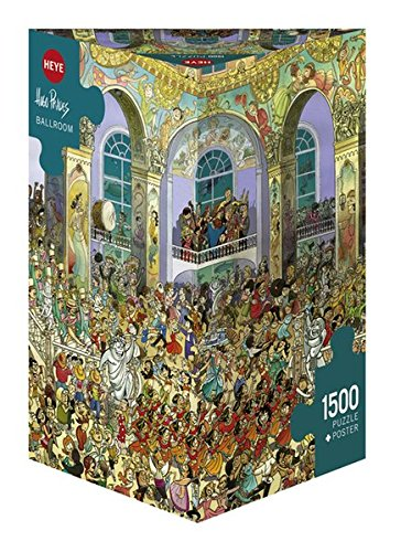 Heye- Ballroom Puzzle, Multicolore, 29696