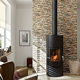 AS Creation Wood N Stone Rural Slate Natural Stone Photo A.S. Wallpaper (Brown 914217)