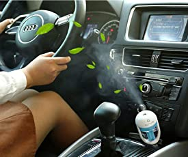 Finiviva Car Plug Car humidifier | Car air purifier | Car freshener (Multicolour)