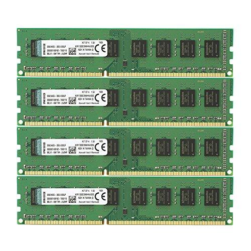 Kingston KVR1333D3N9HK4/32G Arbeitsspeicher 32GB (DDR3 Non-ECC CL9 DIMM Kit, 240-pin, 1.5V)