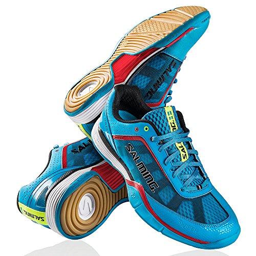 Salming Viper 1234071-1313 Sneaker Indoor Handball cyan blau UVP 145EUR Blau