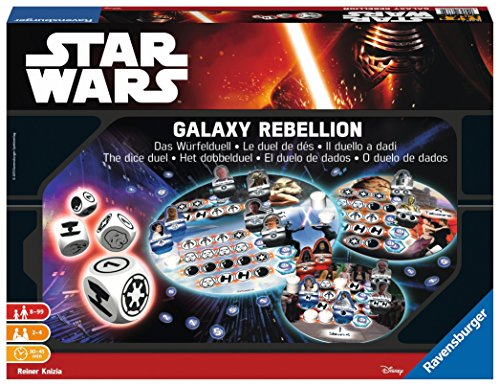 Ravensburger 26665 Star Wars Episode Vii Galaxy Rebellion Game
