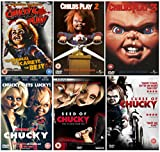 The Complete Chucky 1-6 Movie Collection: Child's Play / Child's Play 2 / Child's Play 3 / Seed of Chucky / Bride of Chucky / Curse of Chucky