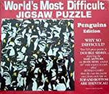 World's Most Difficult Jigsaw Puzzle Penguins Edition by Buffalo Games