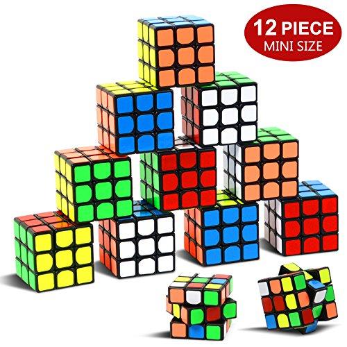 Party Puzzle Spielzeug, 12 Pack Mini Würfel Set Party Favors Cuabe Puzzle,1.18