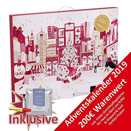 61QIPO 76IL - Douglas Beauty Adventskalender Believe in Angels EXKLUSIV Edition idealer Adventskalender für die Frau, Wert 200 €, 24 Beauty Produkte diverser Hersteller, Advent Kalender