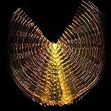 avec bâton ajustable multicolore isis ailes 360 degrés femmes led lumière danse du ventre gros accessoires de papillon performance costume professionnel costume