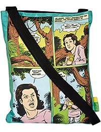 Eco Corner Women's Sling Bag (Multi-Coloured, 4231)