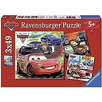 Ravensburger 09281 Disney Cars - Puzzles (3 unidades de 49 piezas)