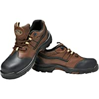 Allen Cooper AC-1431 Heat & Shock Resistant Safety Shoe, ISI Marked for IS:15298 Pt-2, PU Midsole NR OutSole, FRP Toe…