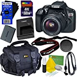 Canon EOS Rebel T6 Digital SLR Camera With EF-S 18-55mm IS II Lens - International Version (No ) + 32GB Accessory Kit W/ HeroFiber Ultra Gentle Cleaning Cloth