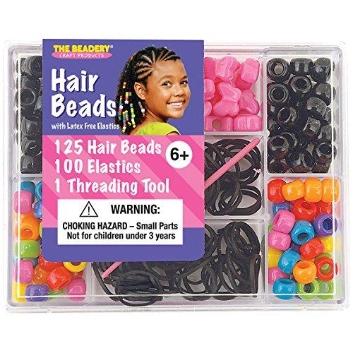 Beadery Kunststoff klein Haar Bead Box kit-Circus -