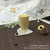 MEICHEN Cucina soggiorno studio ambientale semplicità regali creativi abete bianco grano di legno vetro tazza Posate in legno
