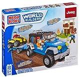Mega Bloks Jeep Forest Expedition Building Set