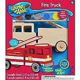 Œuvres de AHH bois peignent Kit-Fire Truck