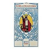 RWS Tarot di Pamela Colman Smith, Tarocco Rider Waite con 78 Cartes e Istruzioni Multilingue