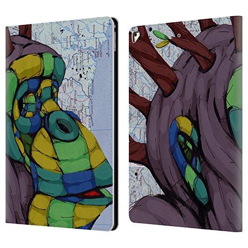 Head Case Designs Offizielle RIC Stultz Neugeist-Bewegung Tiere Brieftasche Handyhülle aus Leder für Apple iPad Pro 12.9 (2017)