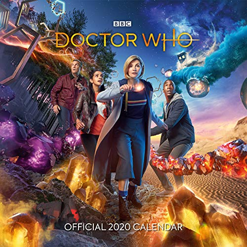 Doctor Who 2020 Calendar - Official Square Wall Format Calendar par BBC