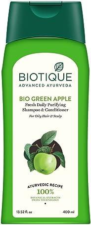Biotique Green Apple Shampoo And Conditioner, 400ml