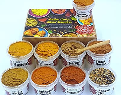 Curry Blends And Seasonings Selection by Nature Kitchen