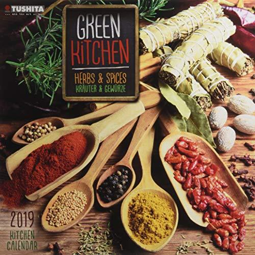 Green Kitchen - Herbs & Spices 2019: Kalender 2019 (Wonderful World)
