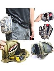 Bazaar Molle pals cintura correa cintura bolso del paquete paquete de herramientas de cintura bolso de pesca