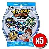 Yo-kai watch Medals série 1 - Lot de 5 paquets aléatoires (3 médaillons chaque paquets) yokai watch médaille série 1 - by channeltoys