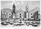 Mary Evans Picture Library – Peru Arequipa Fine Art Print (60.96 x 45.72 cm)