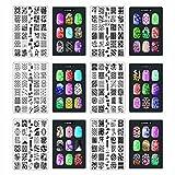 Nail art Stamper immagine piastra - Serie 2 (# 7 # 12) Questi Cici & SISI Nail Art Stamping Piatti sono favolosi e fare una perfetta aggiunta a qualsiasi raccolta. I risultati sono un occhio cattura, dettagliate e nail art ricostruzione unghie, p...